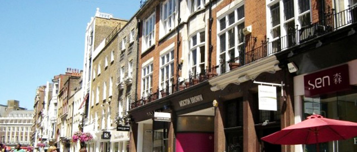 South Molton Street - Shops in London