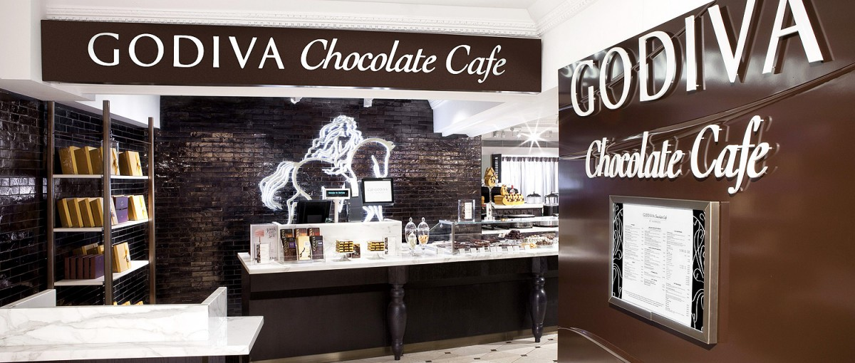 Godiva - Chocolaterie in London