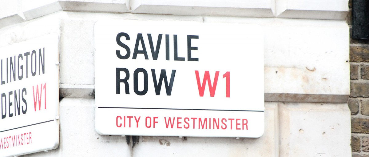 Savile Row - Shops in London