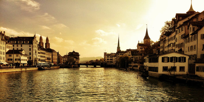 Zurich by ND Strupler