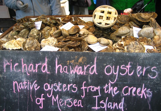Richard Haward Oysters | London Oyster Bars