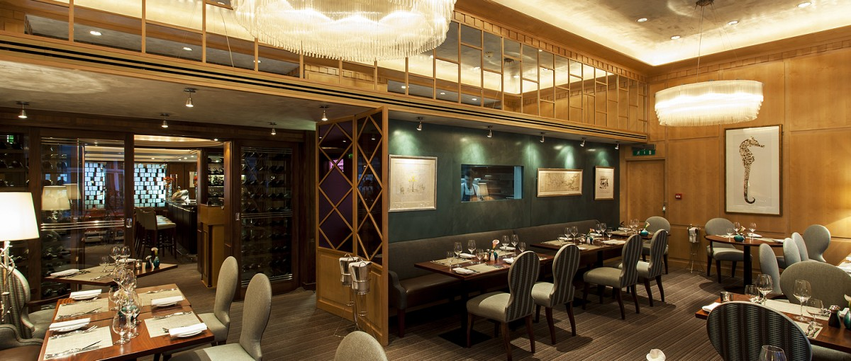 Outlaw's at The Capital - Haute Cuisine restaurant in London