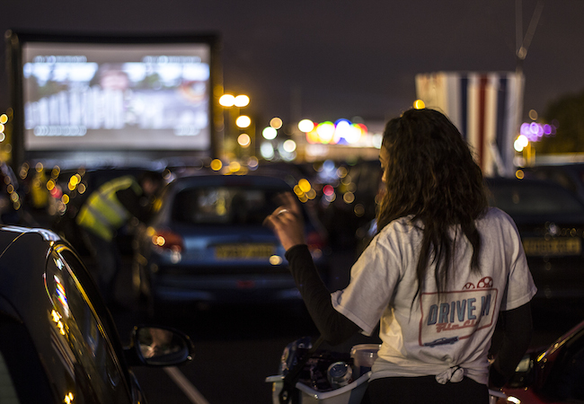 London Pop-Ups | Drive-In Film Club
