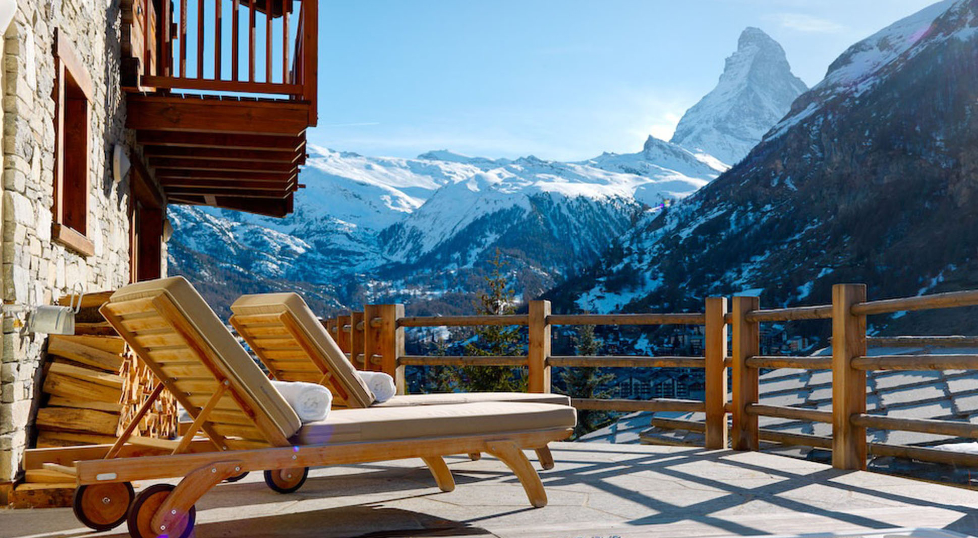 Chalet Les Anges Five Luxury Ski Chalets In Zermatt