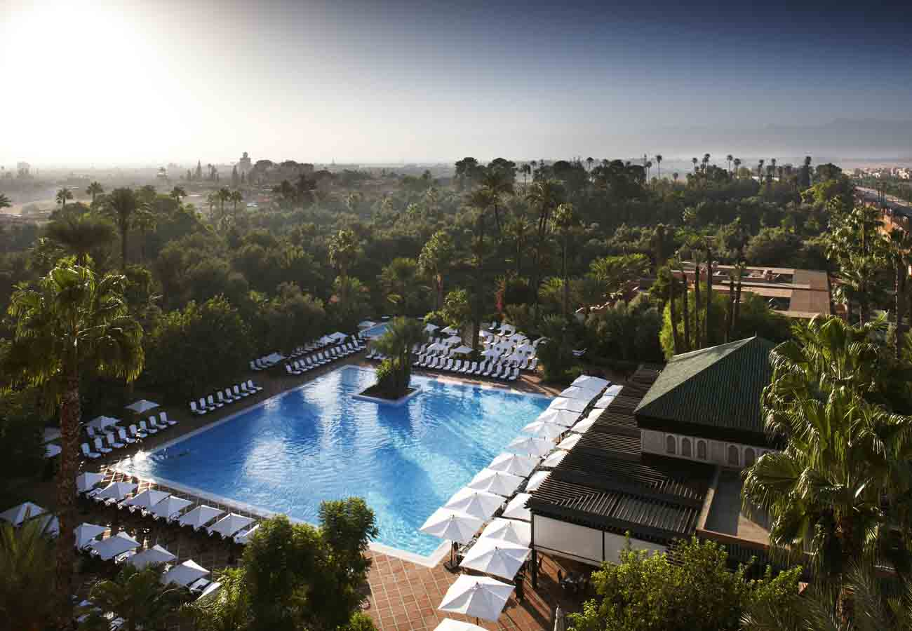 The Hedonist | La Mamounia Outdoor Pool