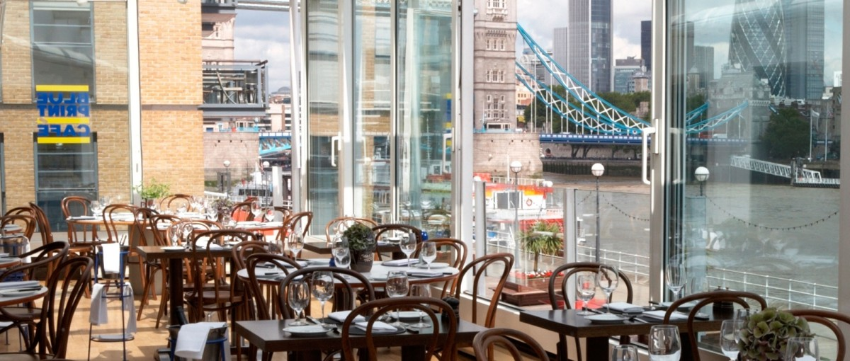 Blueprint caf one of the best bar dining restaurants in southwark blueprint cafe bars in london malvernweather Choice Image