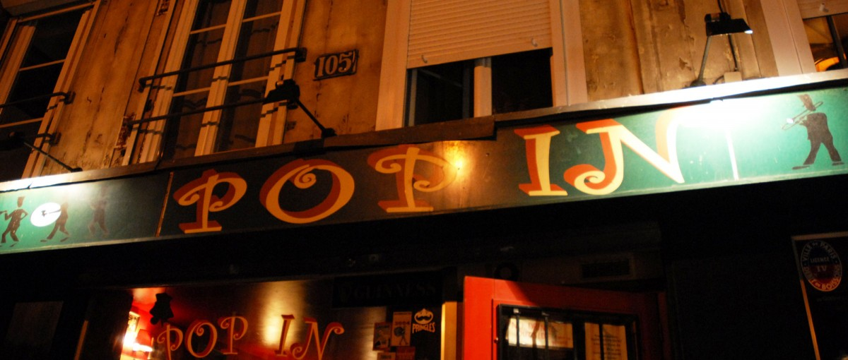 Pop In - Bars in Paris