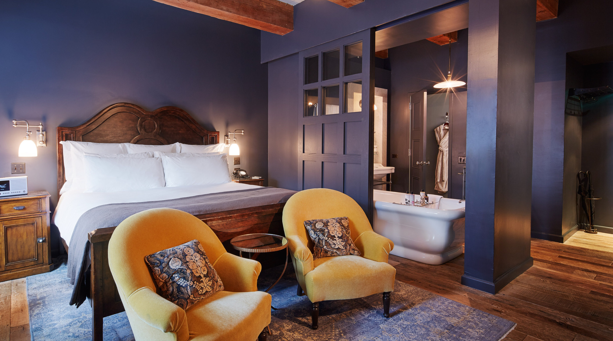 soho house one of the best boutique hotels in meatpacking dist new york. Black Bedroom Furniture Sets. Home Design Ideas