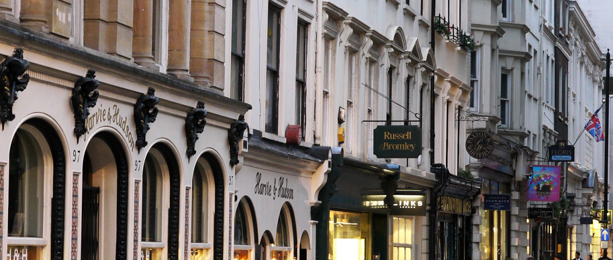 Lux London >> Jermyn Street - One of the Best Shopping Streets Shops in Mayfair, London