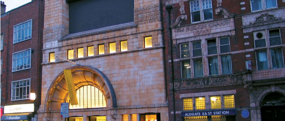 The Whitechapel Gallery - Sights in London