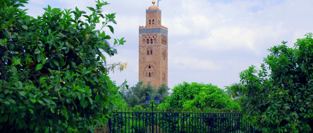 Koutoubia Mosque- Sights in Marrakech