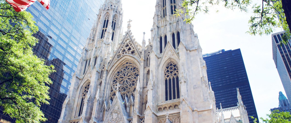 St Patrick's Catherdral - sights in New York