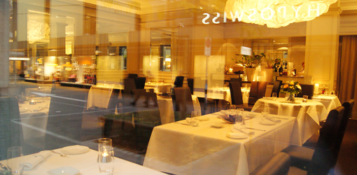 Sein one of the best haute cuisine restaurants in kreis for Haute zurich