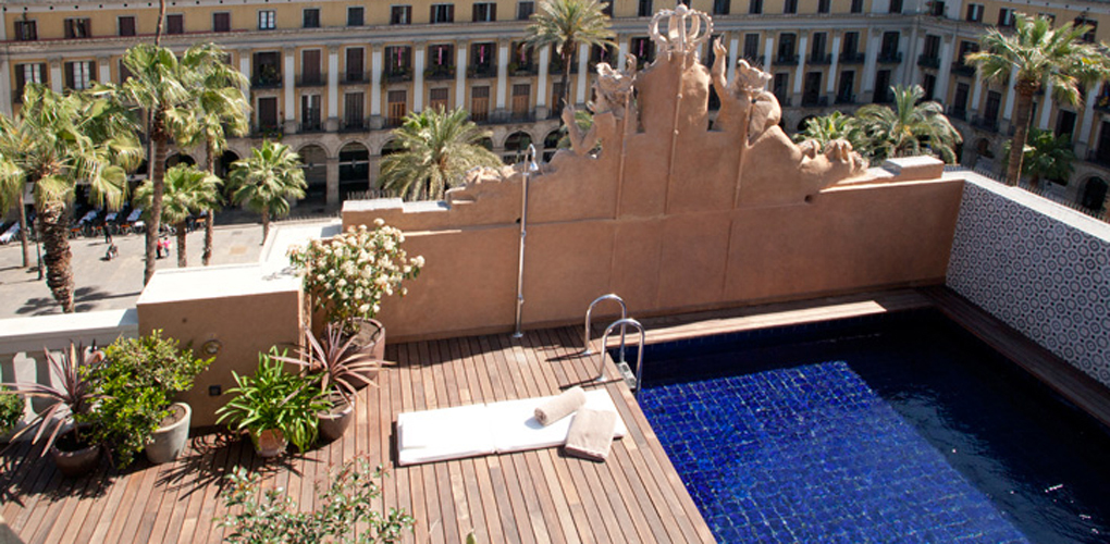 Hotel do placa reial one of the best design hotels in el for Top design hotels barcelona
