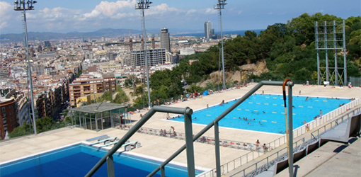 Piscines picornell one of the best swimming pools in for Piscines picornell