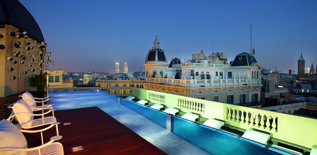 Ohla hotel one of the best design hotels in born barcelona for Top design hotels barcelona