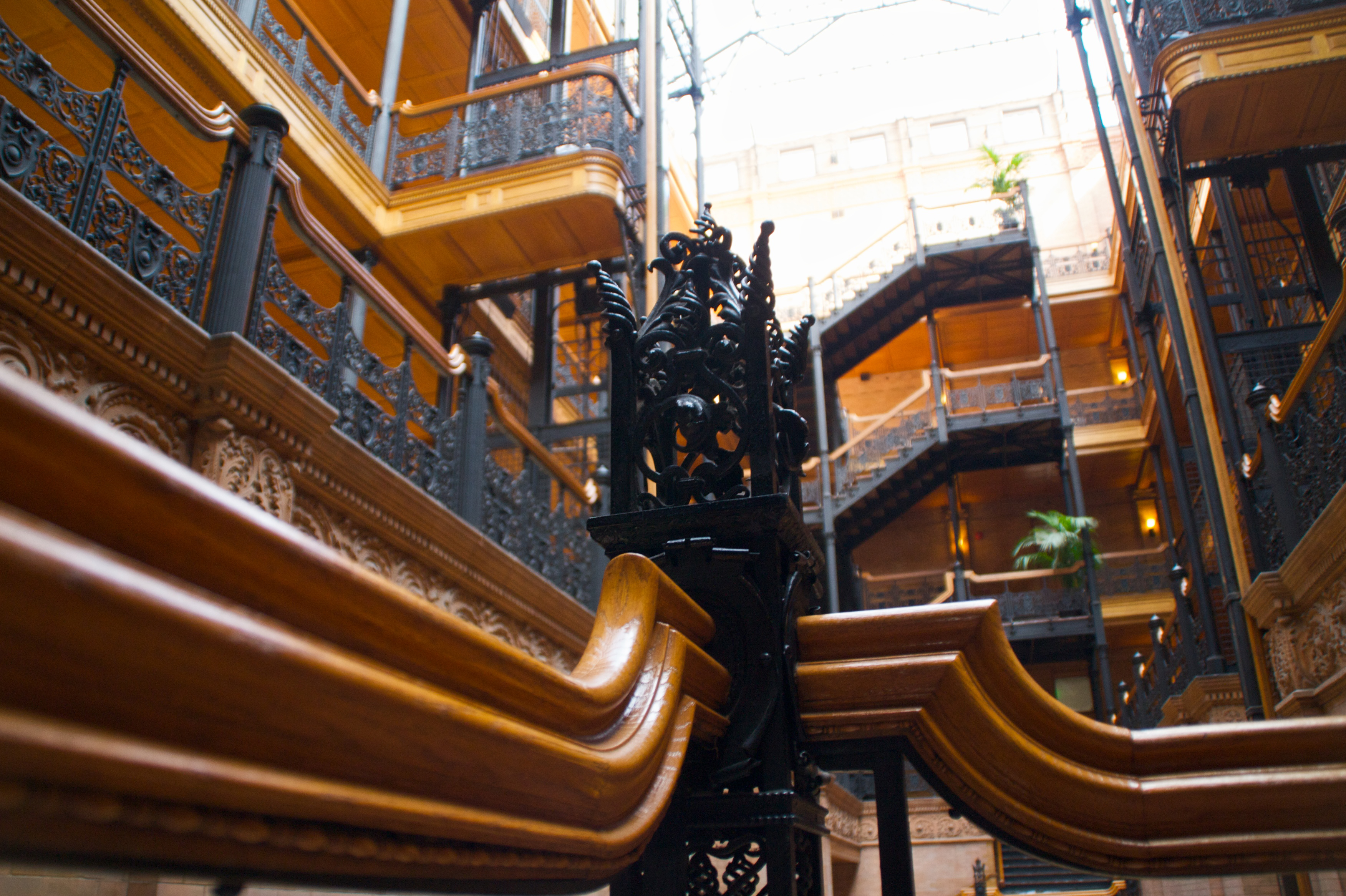 Bradbury Building - One of the Best Cultural Centres in