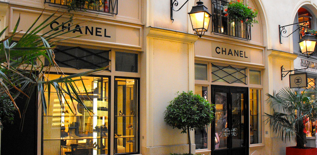 Chanel One Of The Best Designer Shops In Concorde Paris
