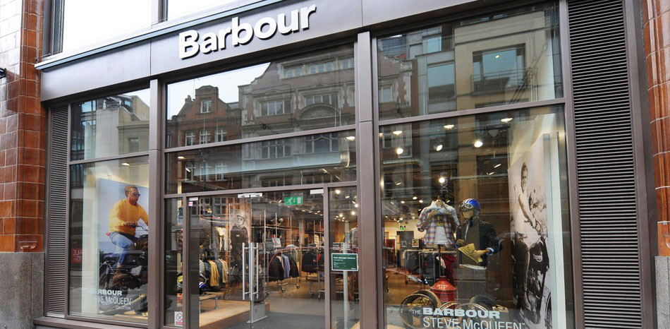 Barbour Shops