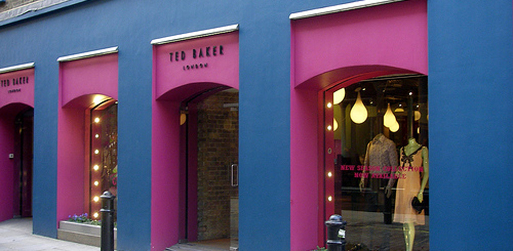d05137bab8520 Ted Baker - One of the Best Clothes Shops in Covent Garden
