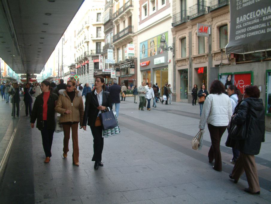 Calle serrano one of the best shopping streets shops in - Calle serrano 55 madrid ...