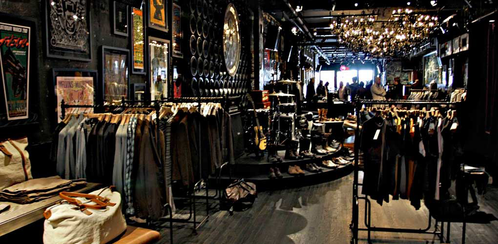 john varvatos soho one of the best concept stores shops in soho new york. Black Bedroom Furniture Sets. Home Design Ideas