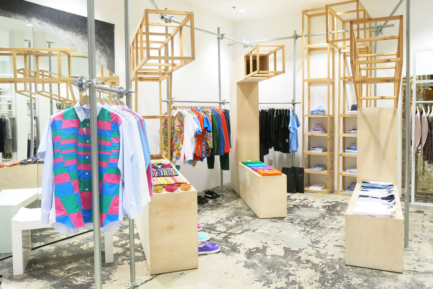 Dover street market fashion concept store in new york