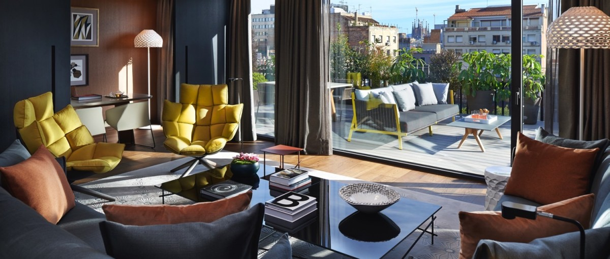 Mandarian Oriental Suites - Luxury Hotel Accommodation in Barcelona
