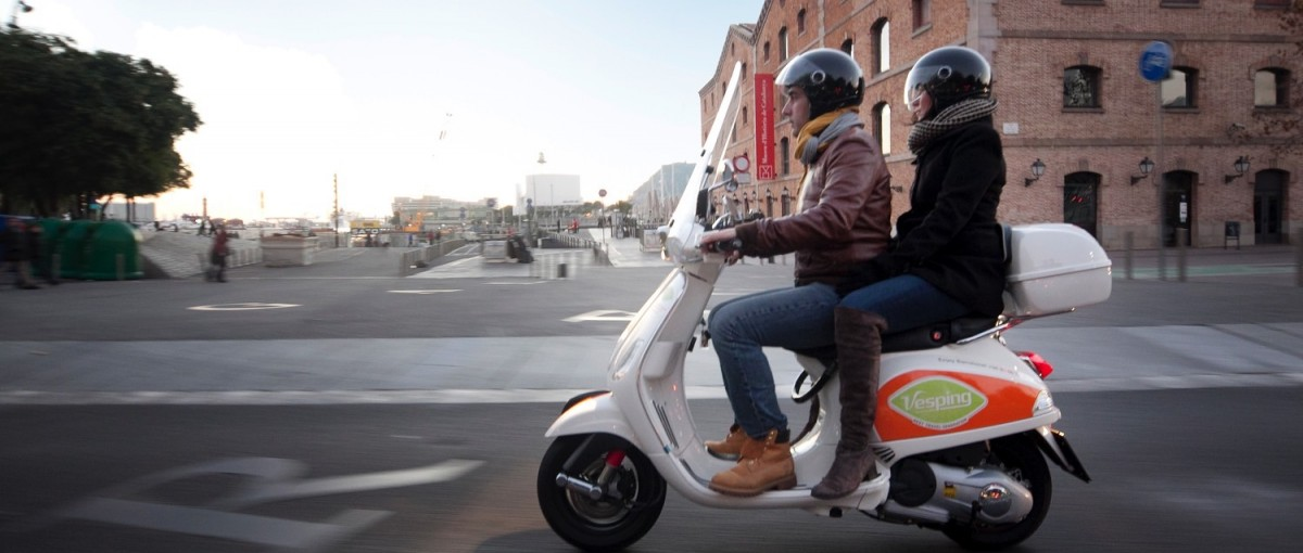 Vesping - A Scooter Rental Service in Barcelona