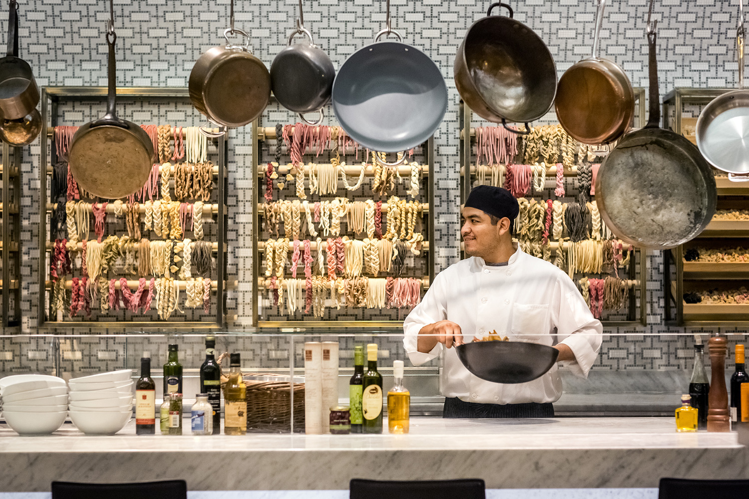 The Todd English Food Hall Restauarnts In New York