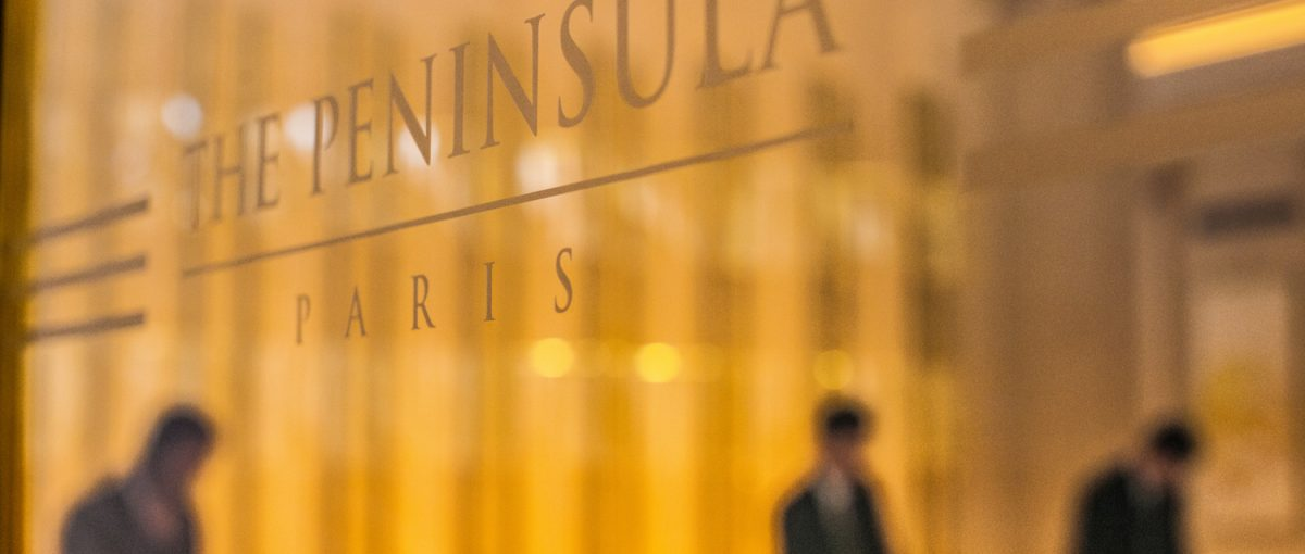 The Peninsula Paris | Hg2 Paris