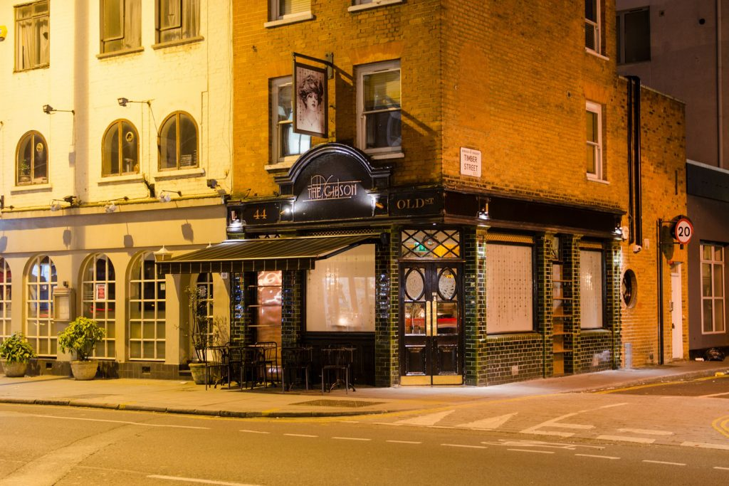 Historic London Bars | The Gibson