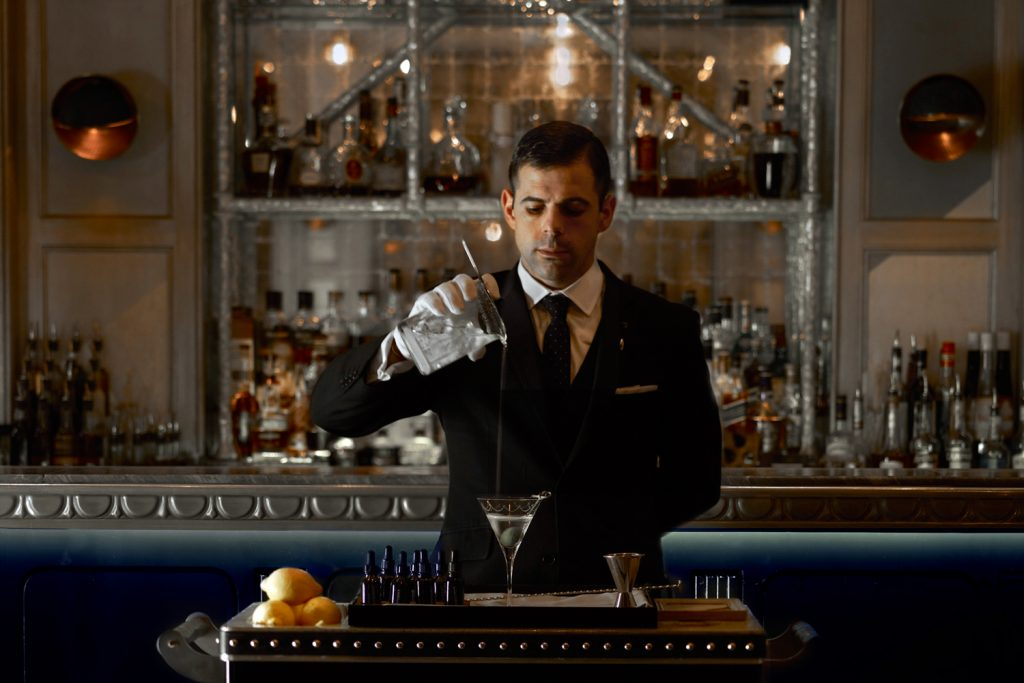 Historic London Bars | The Connaught Bar