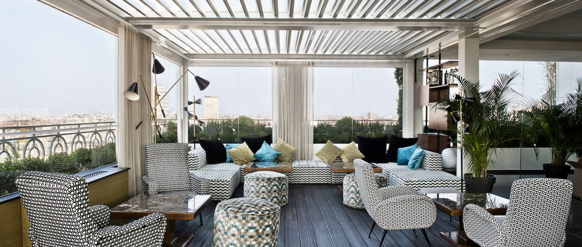 Terrazza 12 - A Rooftop Lounge Bar in Borgogna | Hg2 Milan