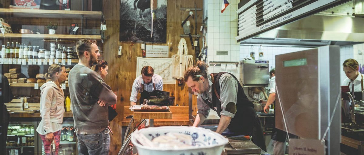 Naše Maso – A Butcher Shop and Restaurant in the Staré Město | Hg2 Prague