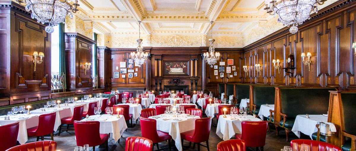 Simpson's in the Strand– British Restaurant in London